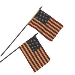 Small Americana Flags