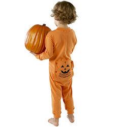 Personalized Pumpkin Long Johns