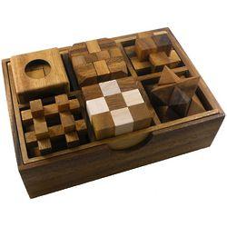 6 Wooden Puzzles Set 2