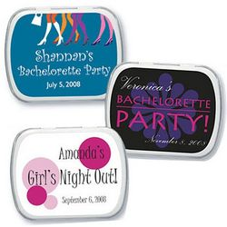 Personalized Bachelorette Party Mint Tins