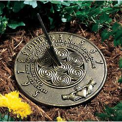 Irish Blessings Sundial