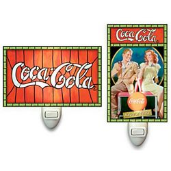 Nostalgic Coca Cola Night Light