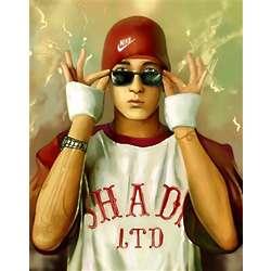 Eminem Pop Art Print