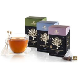Leaves Collection Pyramid Shaped Tea