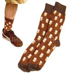 Beer Mugs Crew Socks