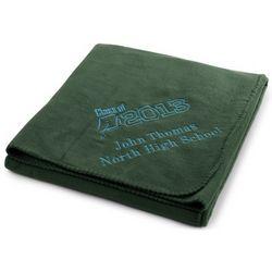 Graduation Forest Fleece Blanket