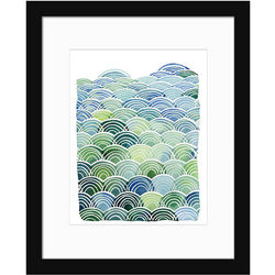 Field and Sky Contemporary Art Print