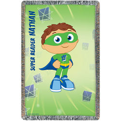 Super Why Super Job Throw Blanket