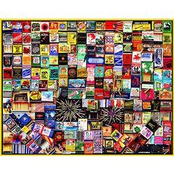 Matchbooks 1,000-Piece Puzzle