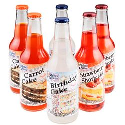 Cake Flavored Soda