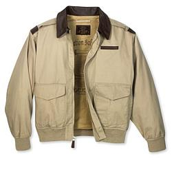Classic A-2 Cotton Bomber Jacket