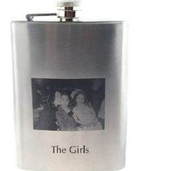 Custom Engraved Photo Flask
