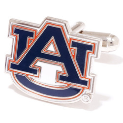 Auburn Tigers Team Logo Cufflinks