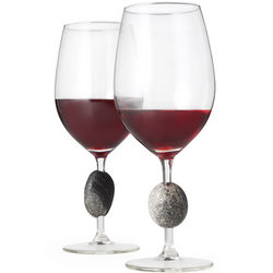 Sea Stone Wine Glasses