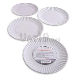 """Reusable """"Paper"""" Plates"""