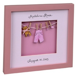 Personalized Baby Announcement Frame