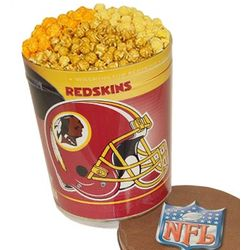 Washington Redskins 3 Way Popcorn Tin