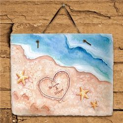 Shores of Love Personalized Slate Plaque