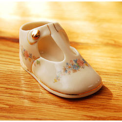 Personalized Porcelain Baby Mary Jane Shoe