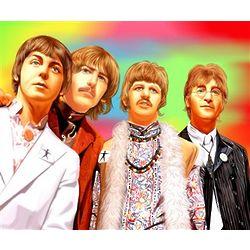Beatles Pop Art Print