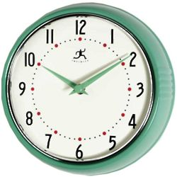 Green Retro Clock