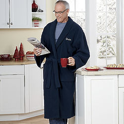 Personalized Fleece Robe