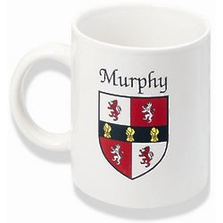 Personalized Irish Coat of Arms Mug