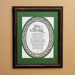 As You Travel Irish Wedding Blessing Print