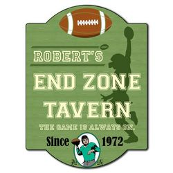 Personalized Football Tavern Sign