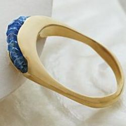 Artisan Channel Set Sapphire Ring