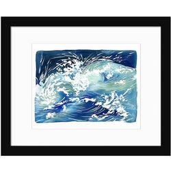 Ocean Waves Contemporary Art Print
