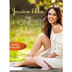 Autographed Jessica Alba Honest Life Book