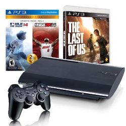 PlayStation 500GB System with 3 Games