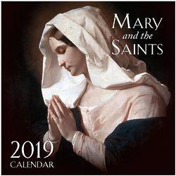 Mary and the Saints 2019 Wall Calendar