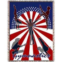 USA Gymnastics Afghan