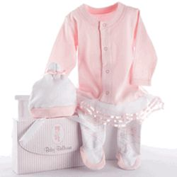 Baby Ballerina Two-Piece Layette Gift Set