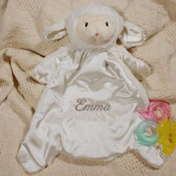 Personalized Lamb Blanket HuggyBuddy™