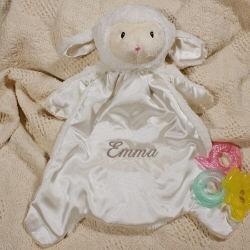 Personalized Lamb Blanket HuggyBuddy™
