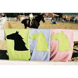 Horse Cashmere Baby Blanket