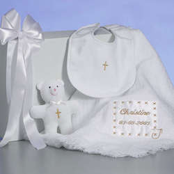 Personalized Christening Gift Set