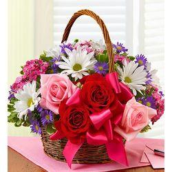 Basket of Love Floral Bouquet