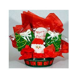 Merry Christmas Cookie Gift Basket