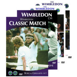 Wimbledon Greatest Matches Volume 1 DVD Set