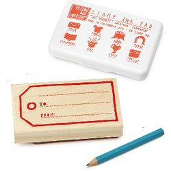 Gift Tag Stamp Kit