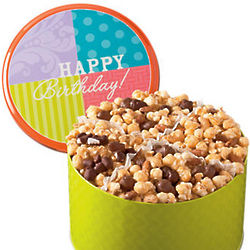 Birthday Moose Munch 4 Way Tin