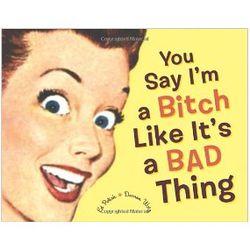 You Say I'm a B*tch Like It's a Bad Thing Book