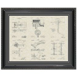 Henry Ford's Model-T Patent Framed Print 20x24