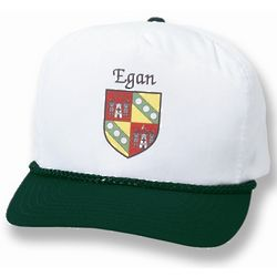 Personalized Irish Coat of Arms Cap