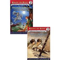 Jefferson's and Kennedy's Childhood Children's Books