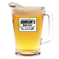 Personalized Band Cave Beer Pitcher